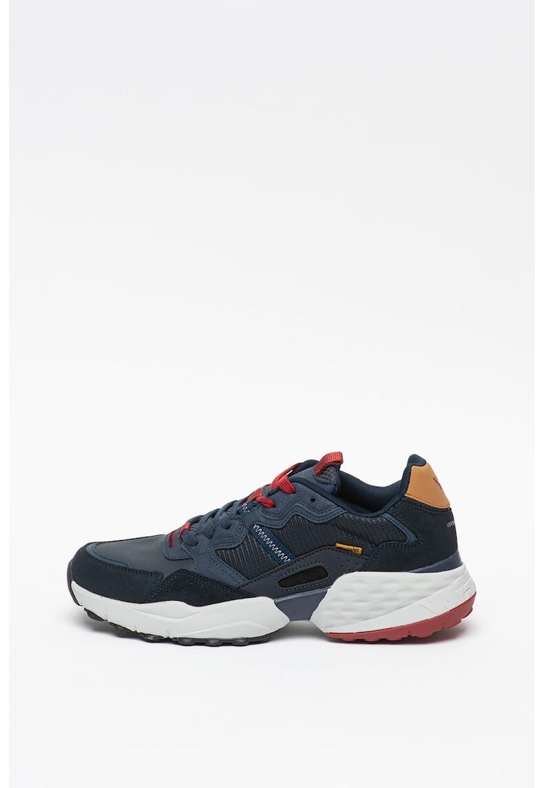 Pantofi sport cu insertii de piele Iconic