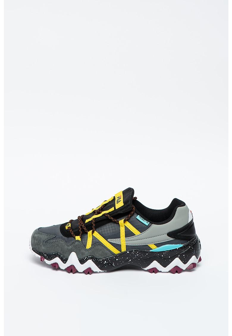 Pantofi sport cu garnituri din piele intoarsa Trail-R