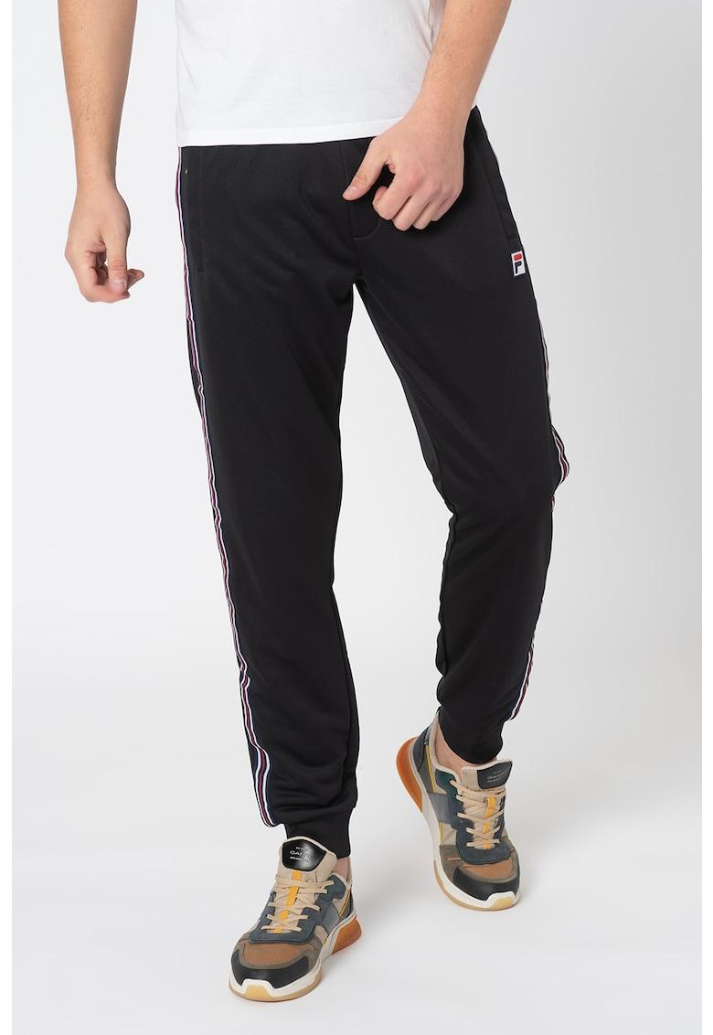 Pantaloni de trening cu benzi in lateral Salih imagine