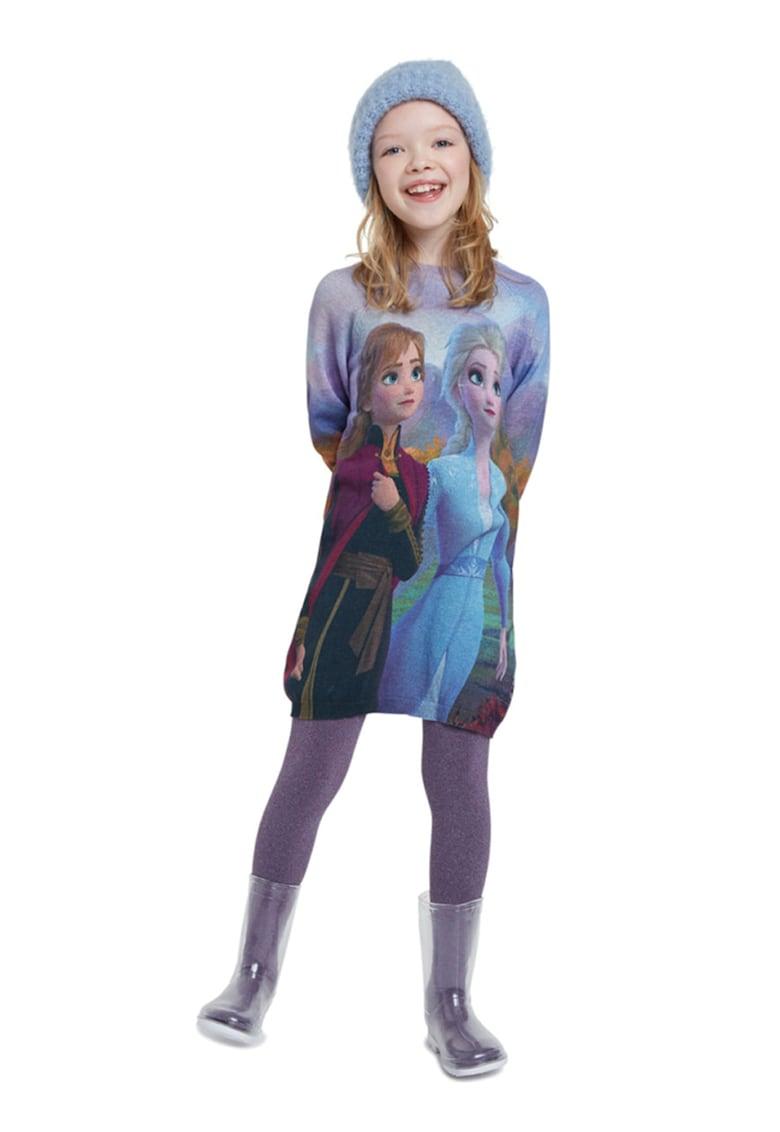 Rochie cu imprimeu Frozen DESIGUAL