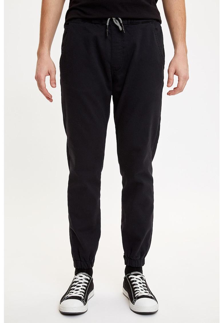 Pantaloni jogger cu snur imagine