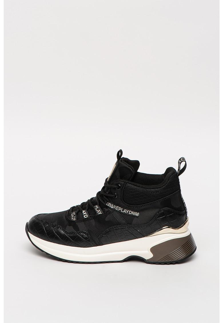 Pantofi sport wedge mid-cut