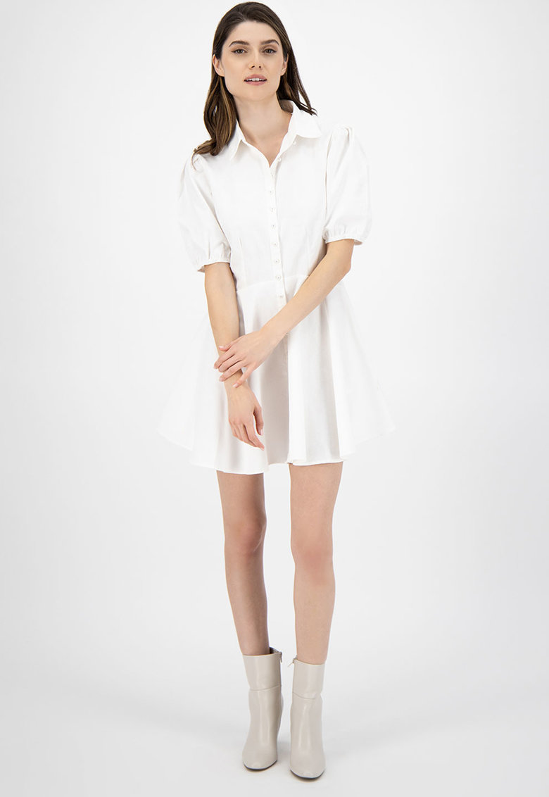 Rochie mini tip camasa imagine fashiondays.ro