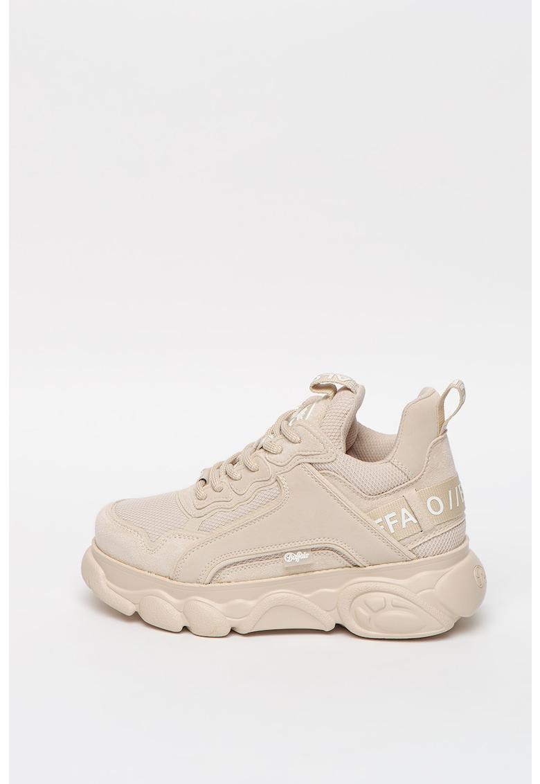 Pantofi sport de plasa cu aspect masiv CLD Chai