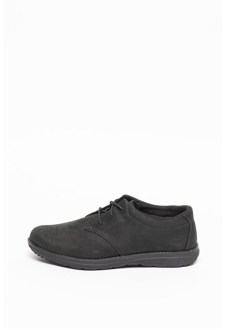 Pantofi casual de piele nabuc Edgemont