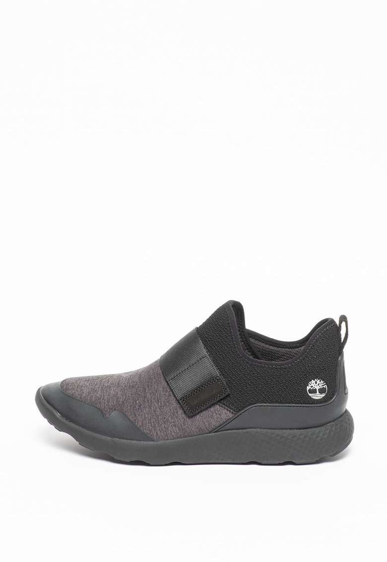Pantofi sport slip-on cu insertii de plasa Flyroam Go