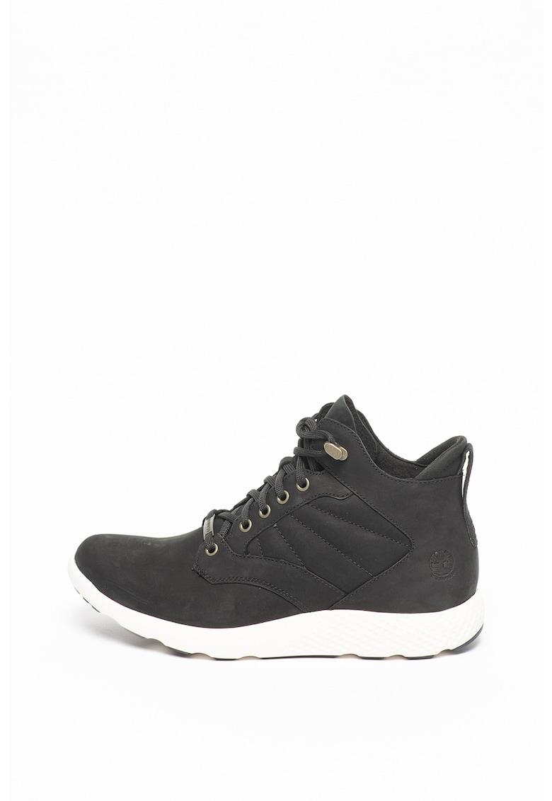 Pantofi sport de piele nabuc FlyRoam™