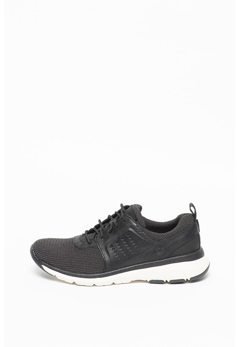 Pantofi sport cu insertii de piele Altimeter