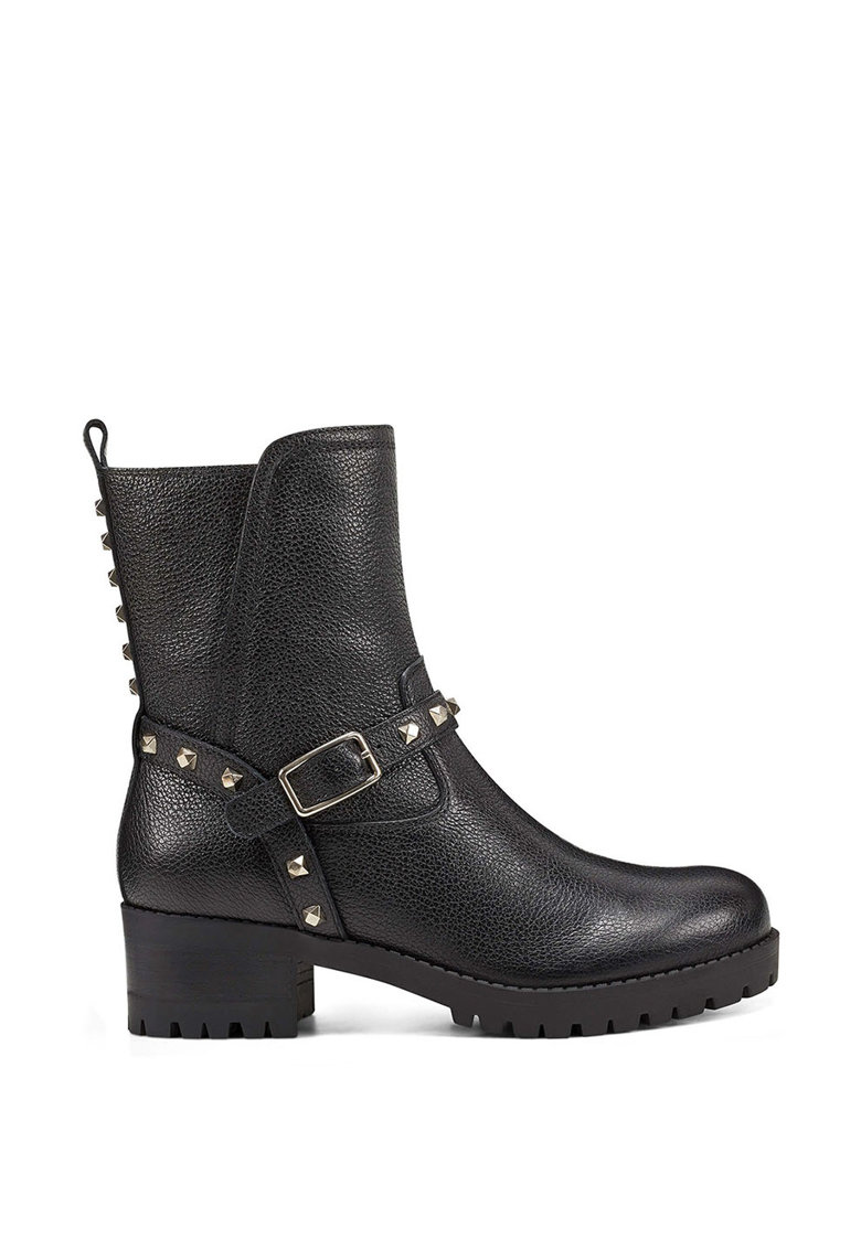 NINE WEST Ghete biker de piele Renee