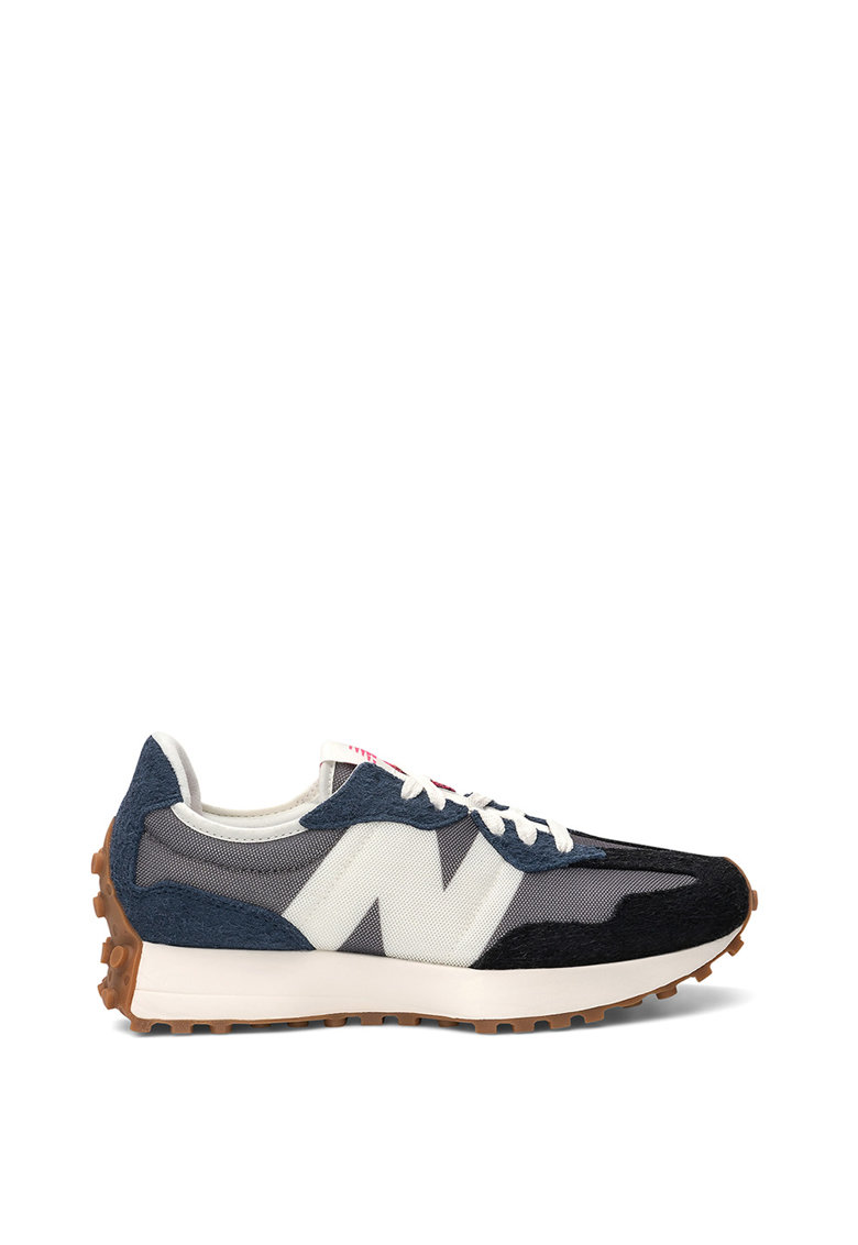 Pantofi sport de material textil si piele intoarsa 327 imagine