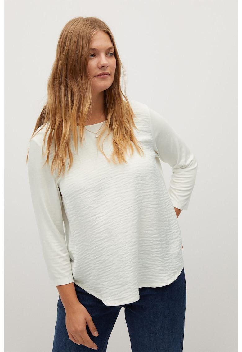 Bluza cu aspect texturat Nacho imagine