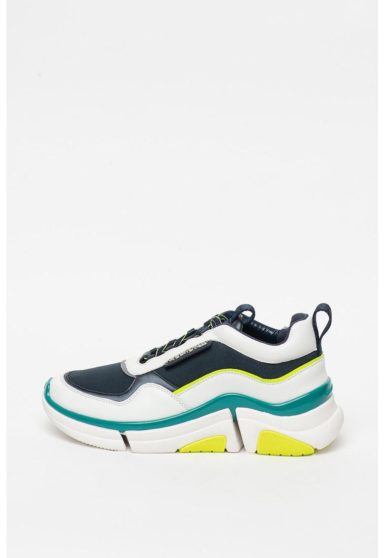 Pantofi sport cu insertii de piele Venture