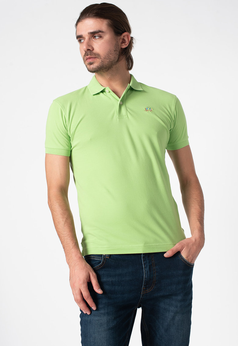 Tricou polo slim fit imagine promotie