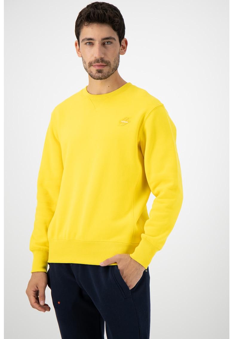 Bluza sport cu logo de la SUPERDRY
