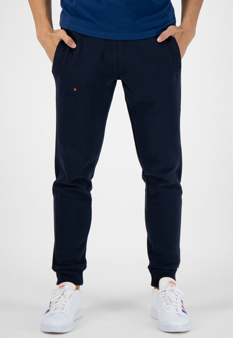 Pantaloni sport cu terminatii elastice la nivelul gleznelor Orange Label