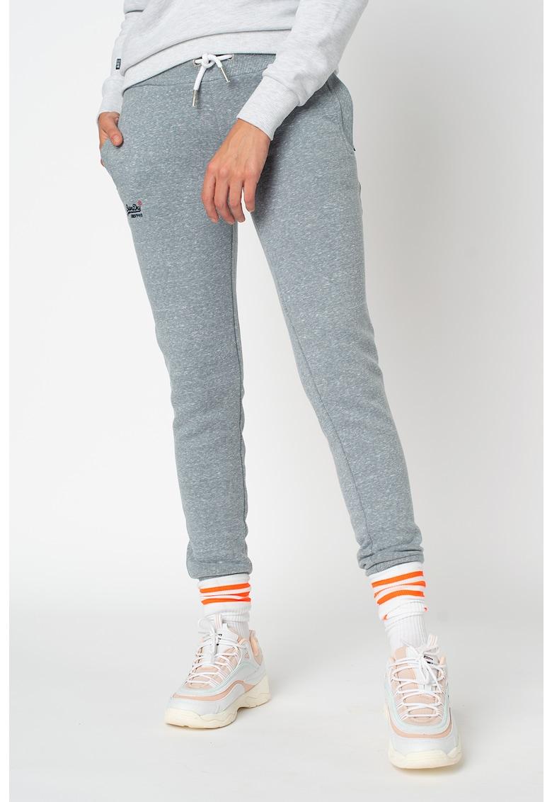 Pantaloni sport cu buzunare laterale Orange Label