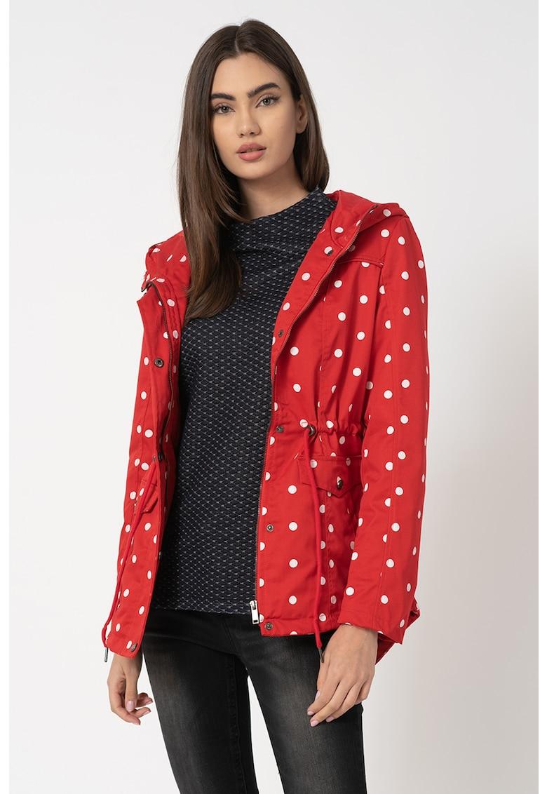 Jacheta usoara cu imprimeu cu buline Emma