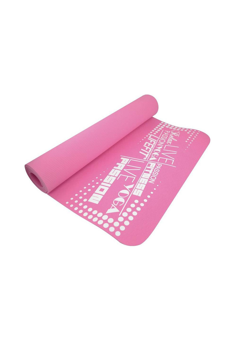 Saltea fitness/yoga/pilates LifeFit SLIMFIT - 173 x 58 x 0.6 cm - roz imagine fashiondays.ro 2021