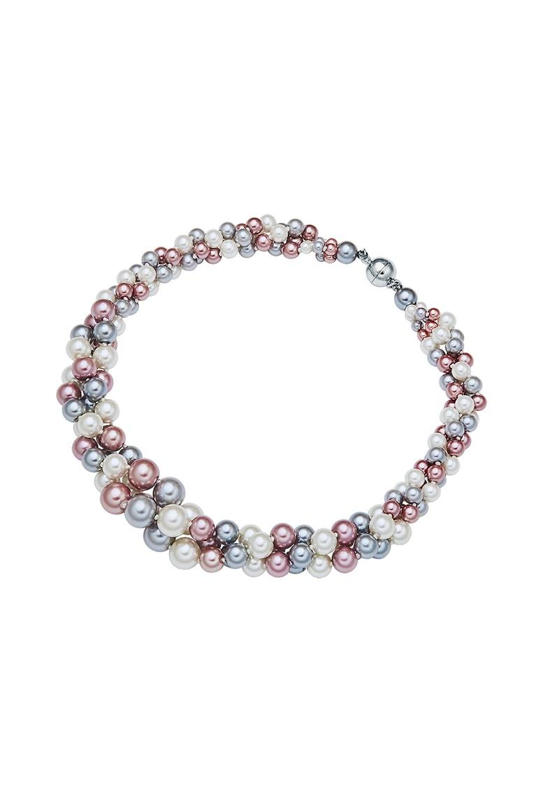 Colier cu margele perlate cu invelis mother of pearl imagine promotie