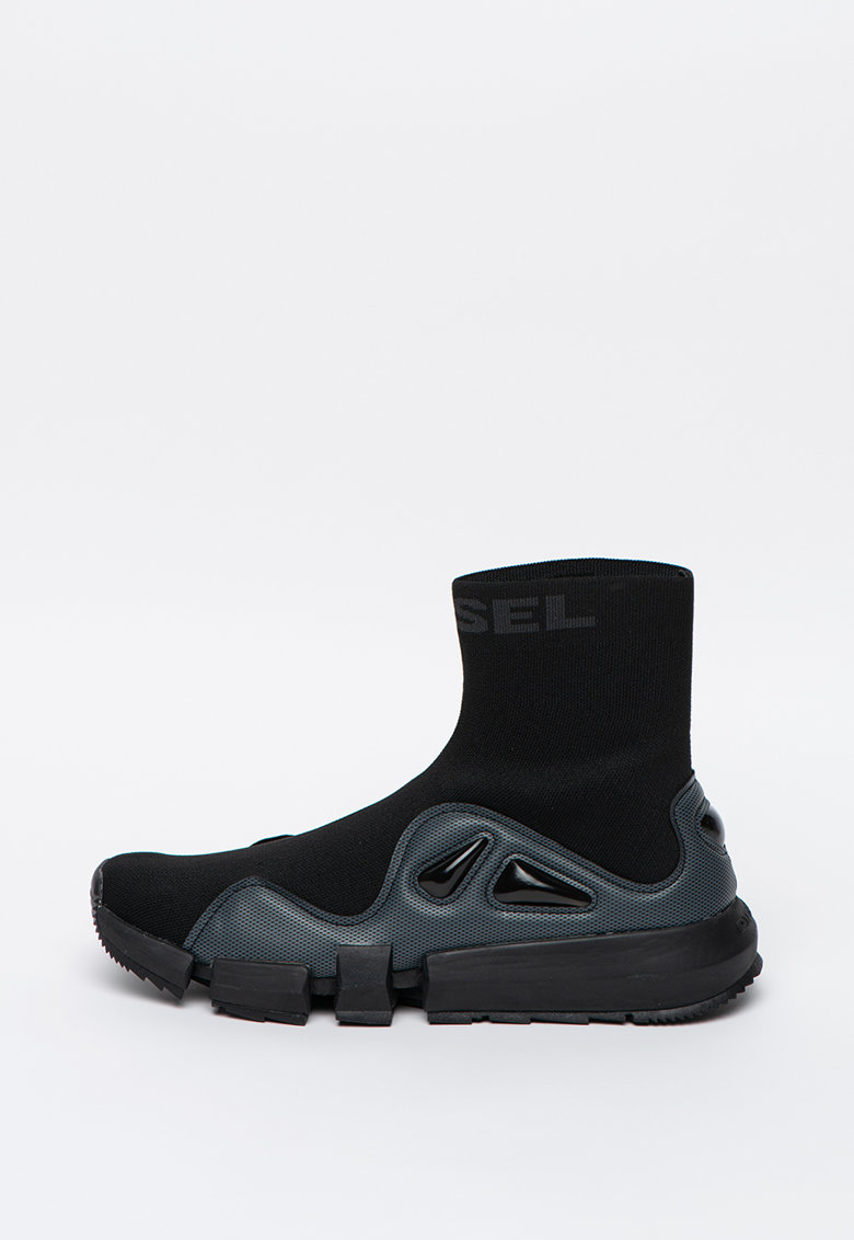 Pantofi sport inalti tricotati tip soseta H-Padola