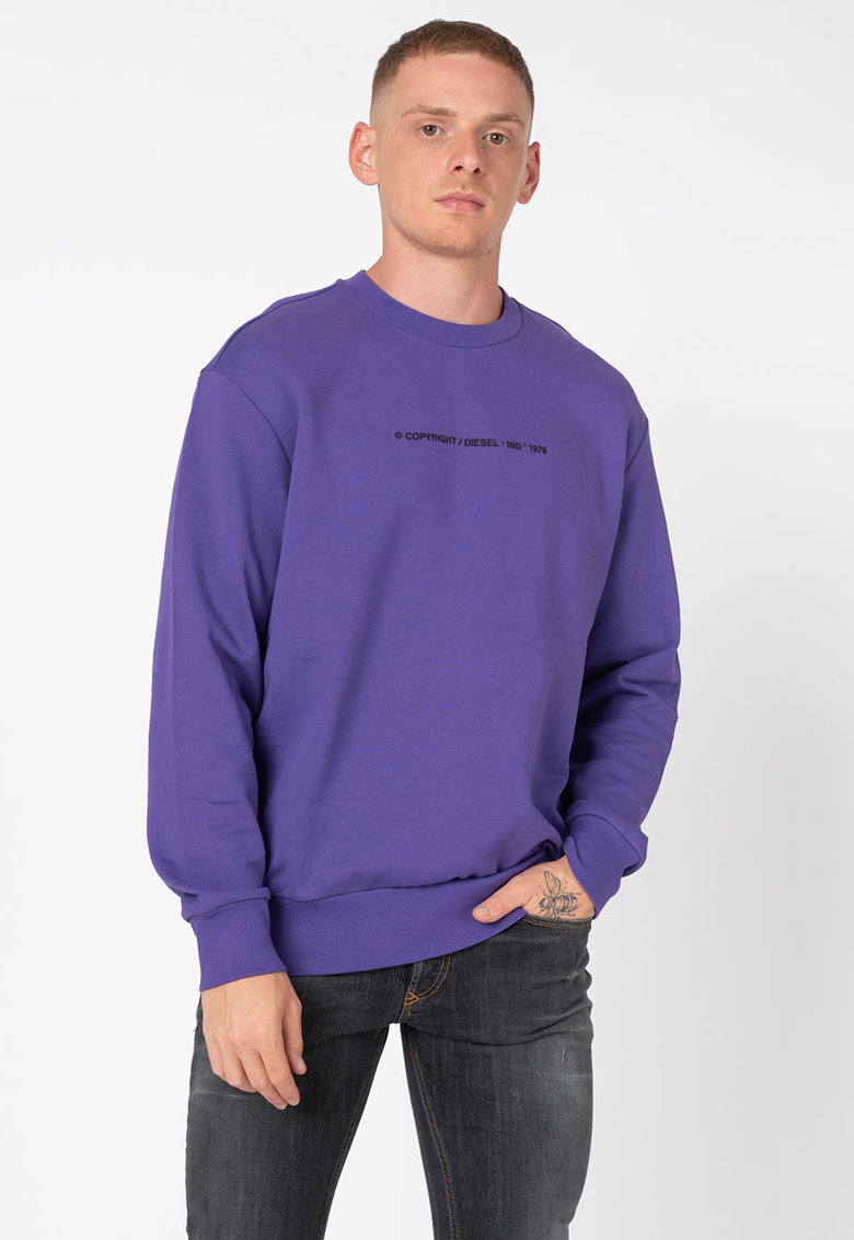 Bluza sport cu text Biay