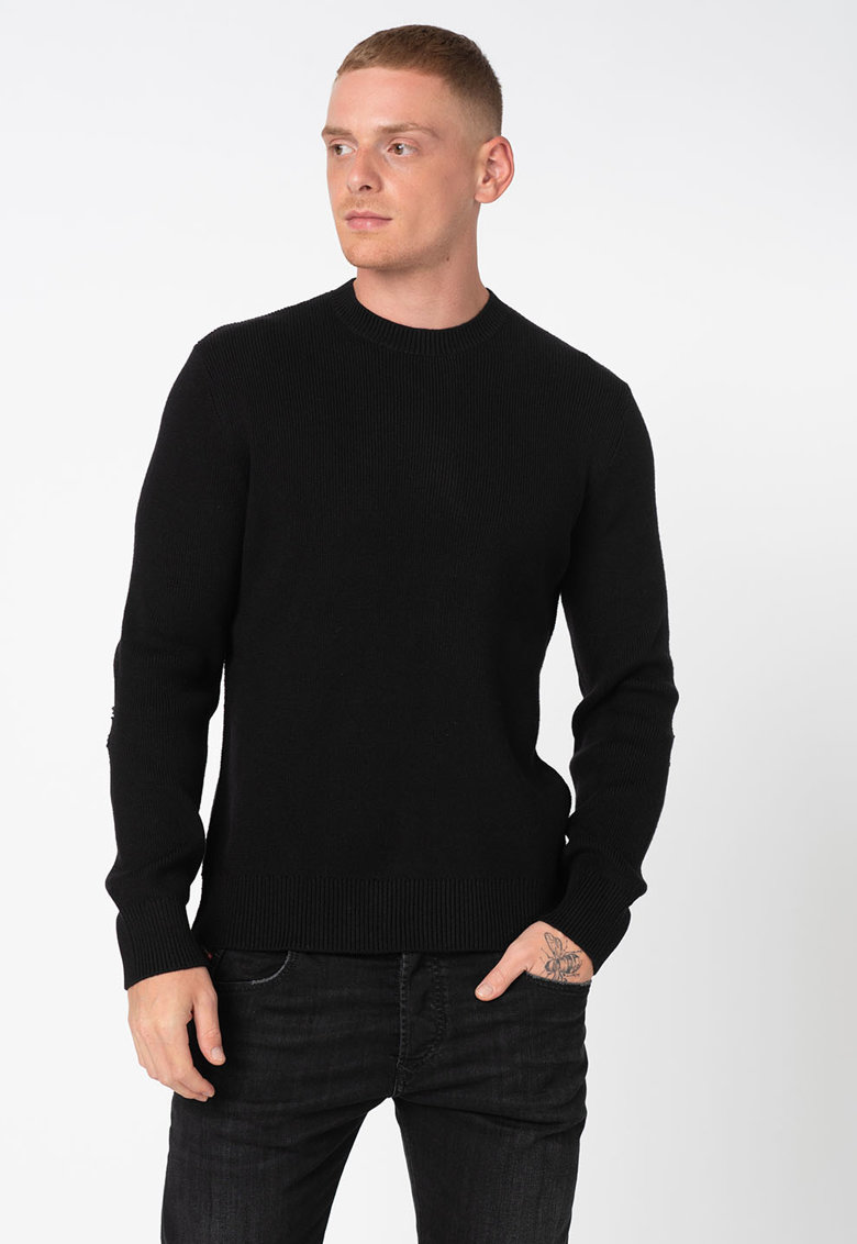Pulover regular fit din amestec de lana Aaron de la Diesel