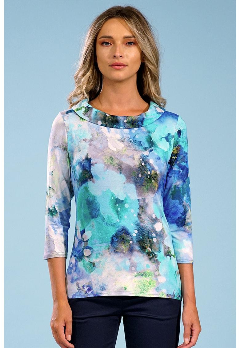 Bluza cu model tie-dye Madame