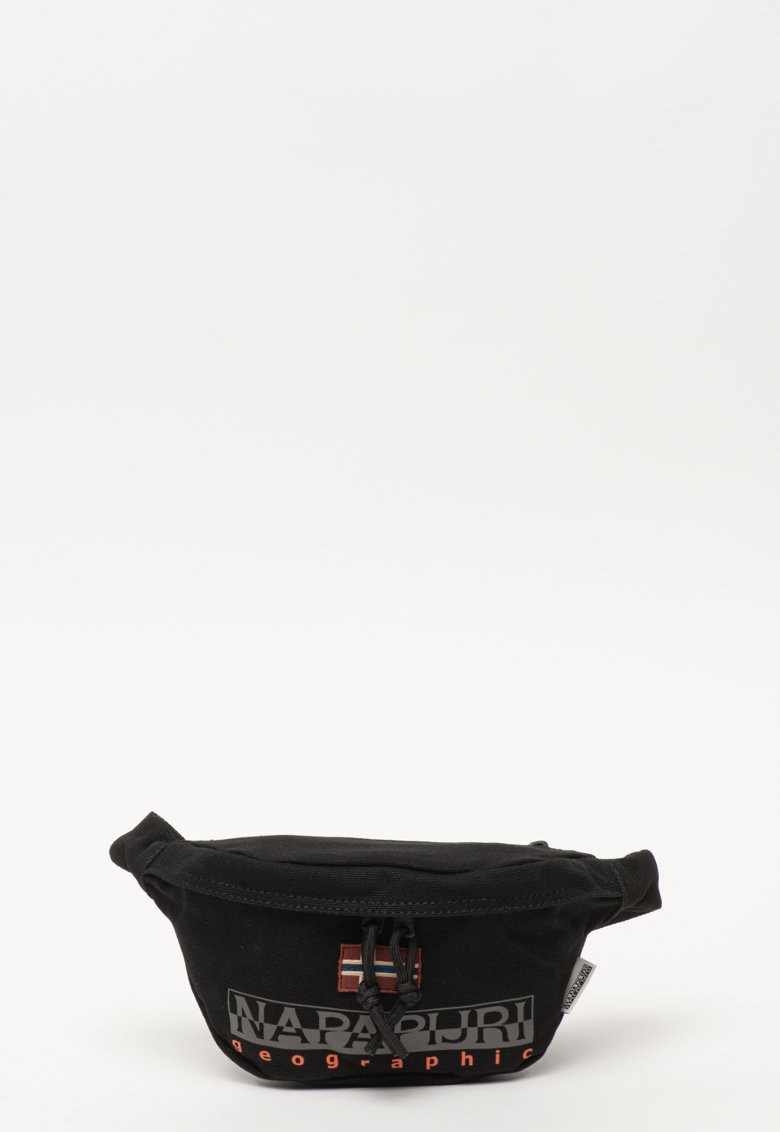 Borseta unisex din material textil cu imprimeu logo Hering