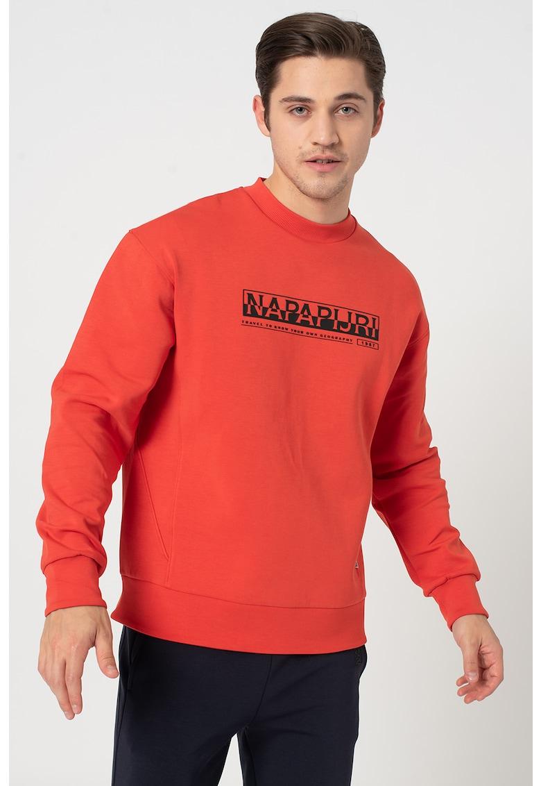Bluza sport cu imprimeu logo Oodi