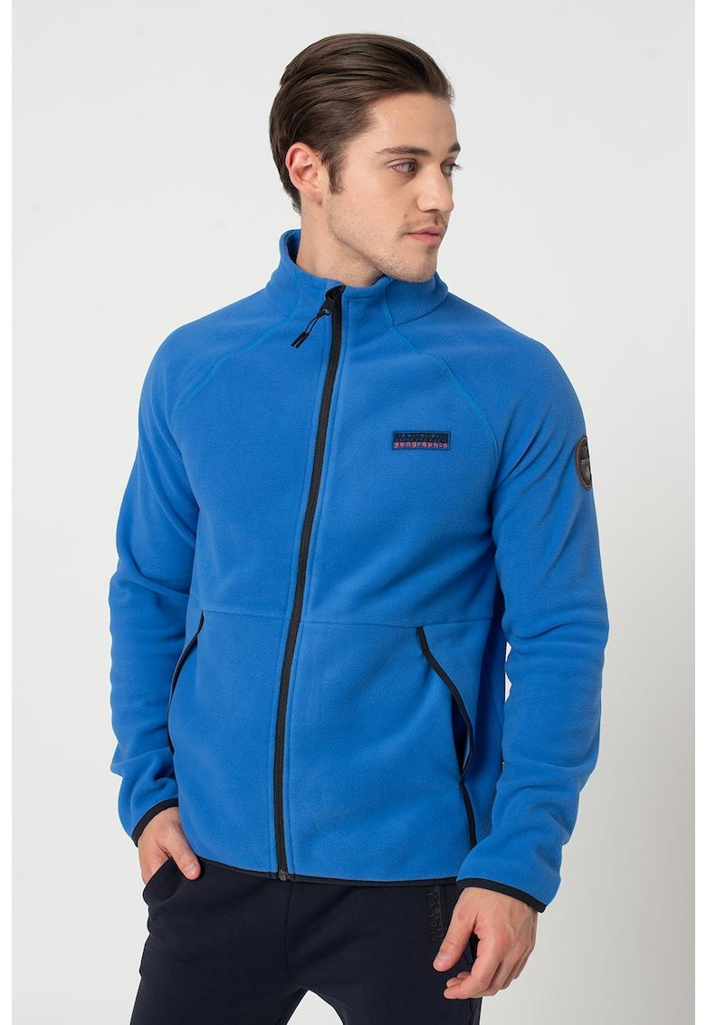 Bluza sport din fleece cu maneci raglan Tear imagine