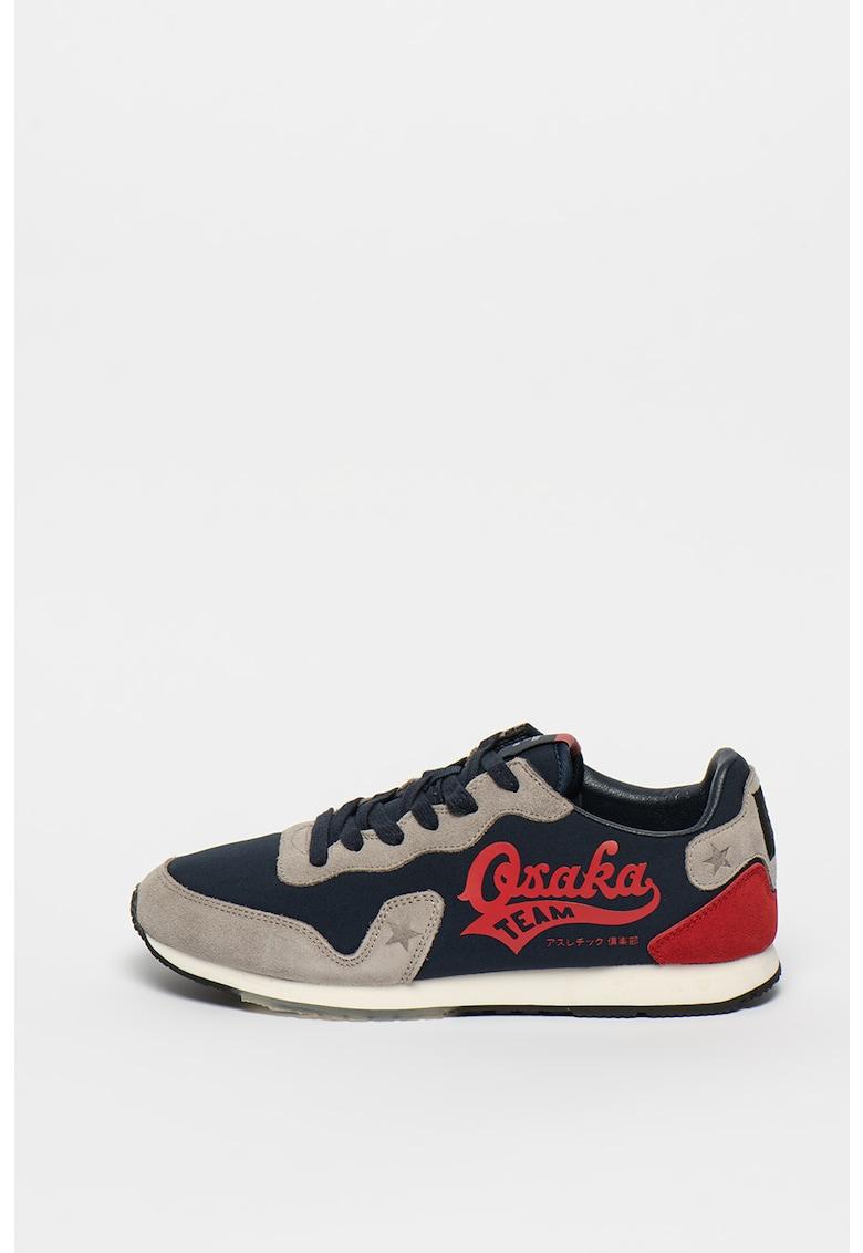 Pantofi sport cu garnituri din piele intoarsa Retro Osaka Runner
