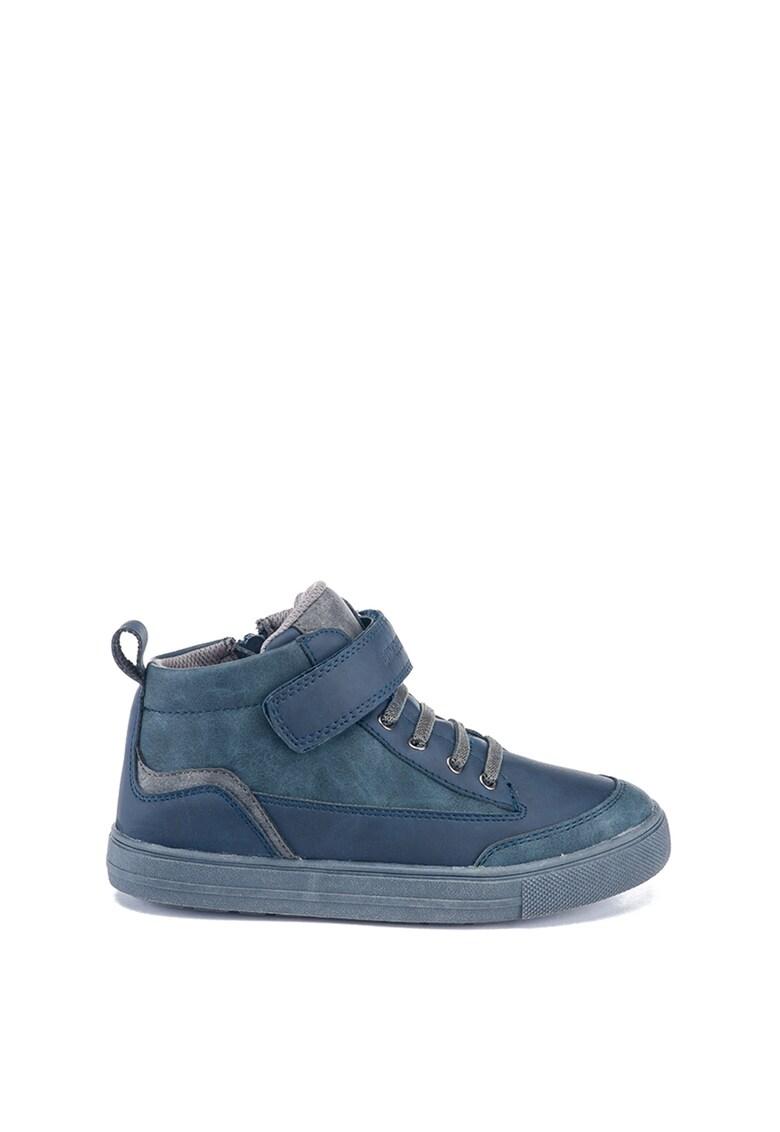 Pantofi sport high-top cu velcro