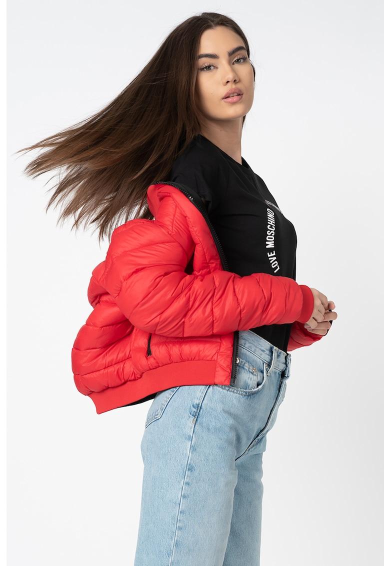 Jacheta reversibila cu aspect matlasat