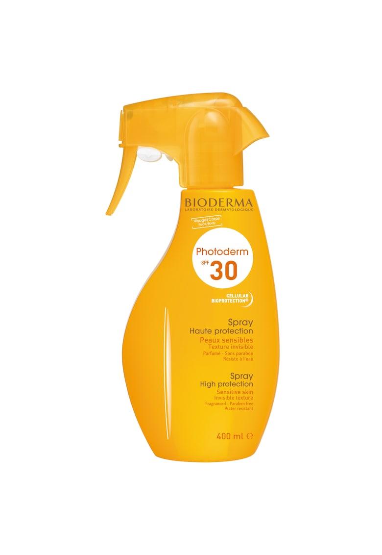 Bioderma Spray cu protectie solara  Photoderm SPF 30 pentru piele sensibila