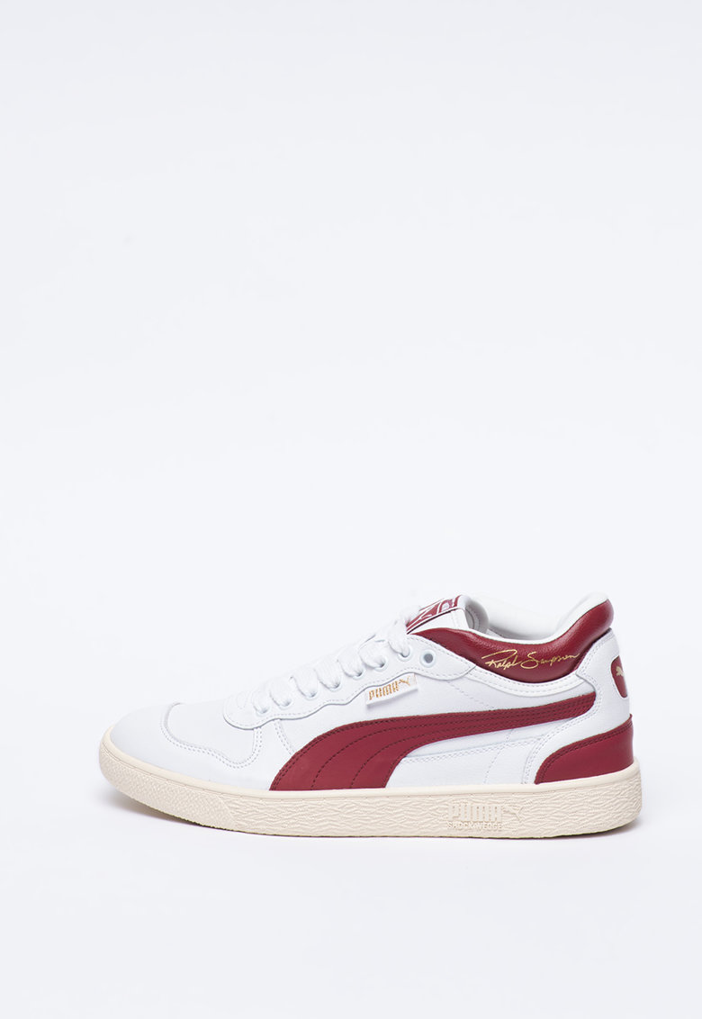 Pantofi sport mid-high unisex din piele Ralph Sampson imagine