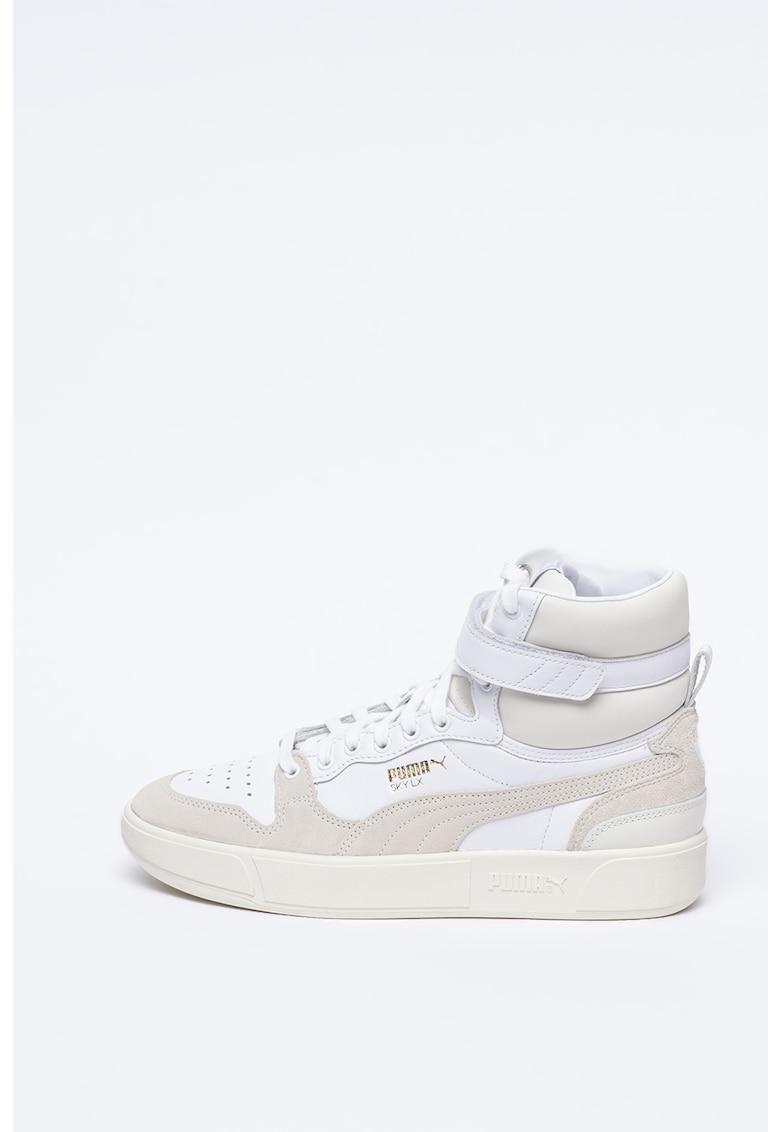 Pantofi sport unisex inalti din piele Sky LX