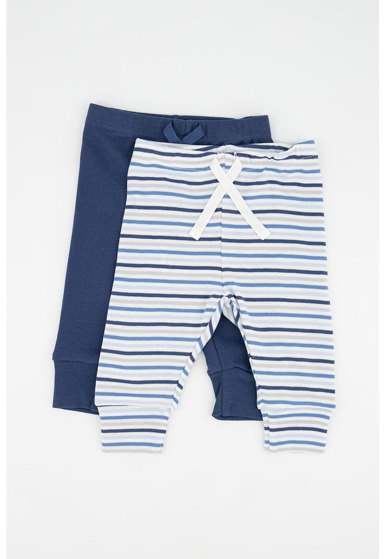 Set de pantaloni sport cu snur - 2 perechi imagine