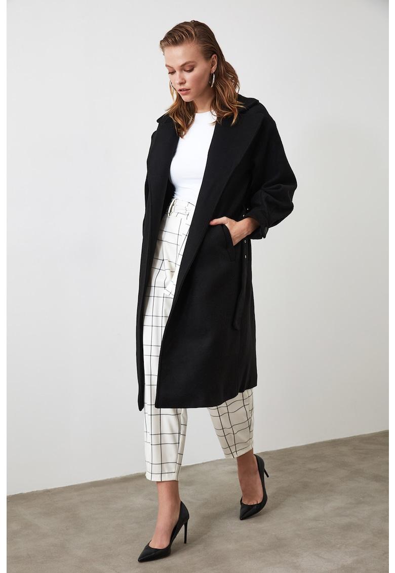 Palton cu o curea poza fashiondays