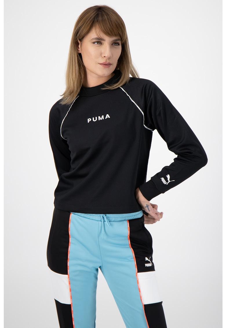 Bluza sport cu maneci raglan XTG imagine