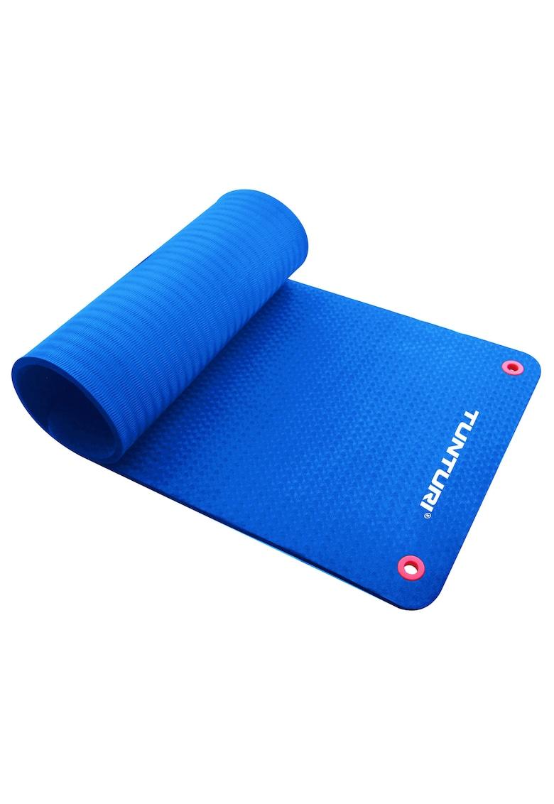 Saltea fitness/yoga/pilates Pro - 140x60x1.5 cm - albastru