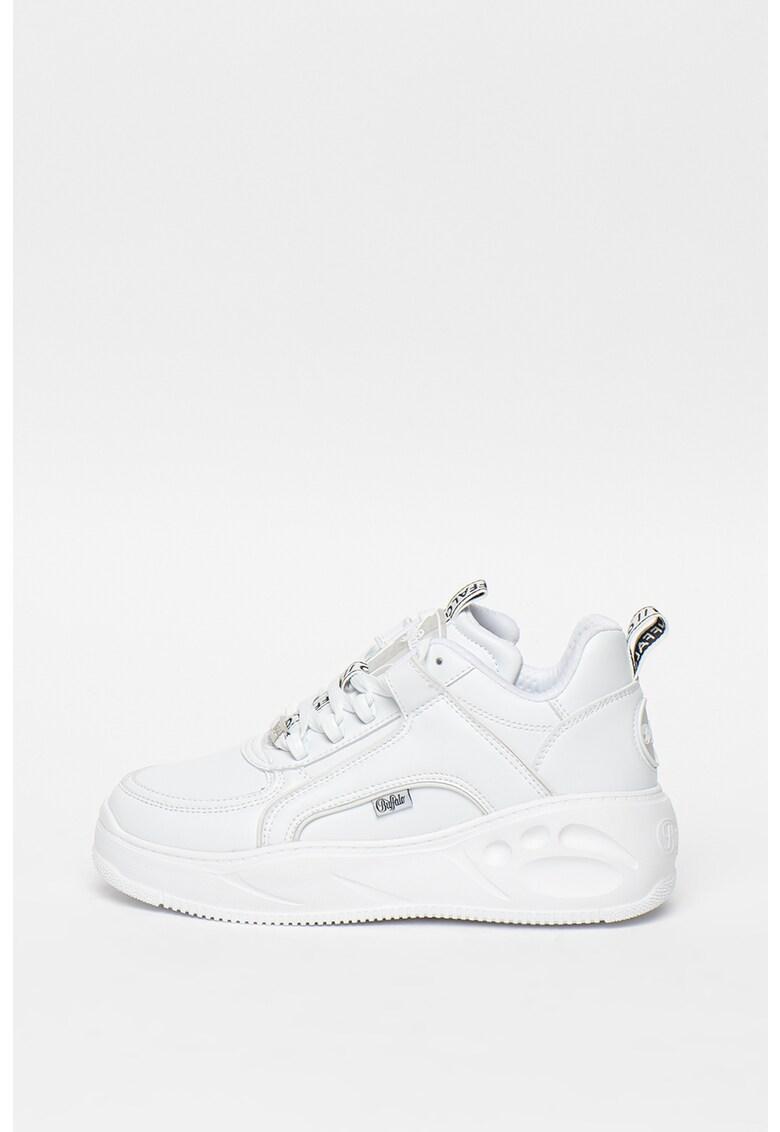 Pantofi sport de piele ecologica Flat SMPL