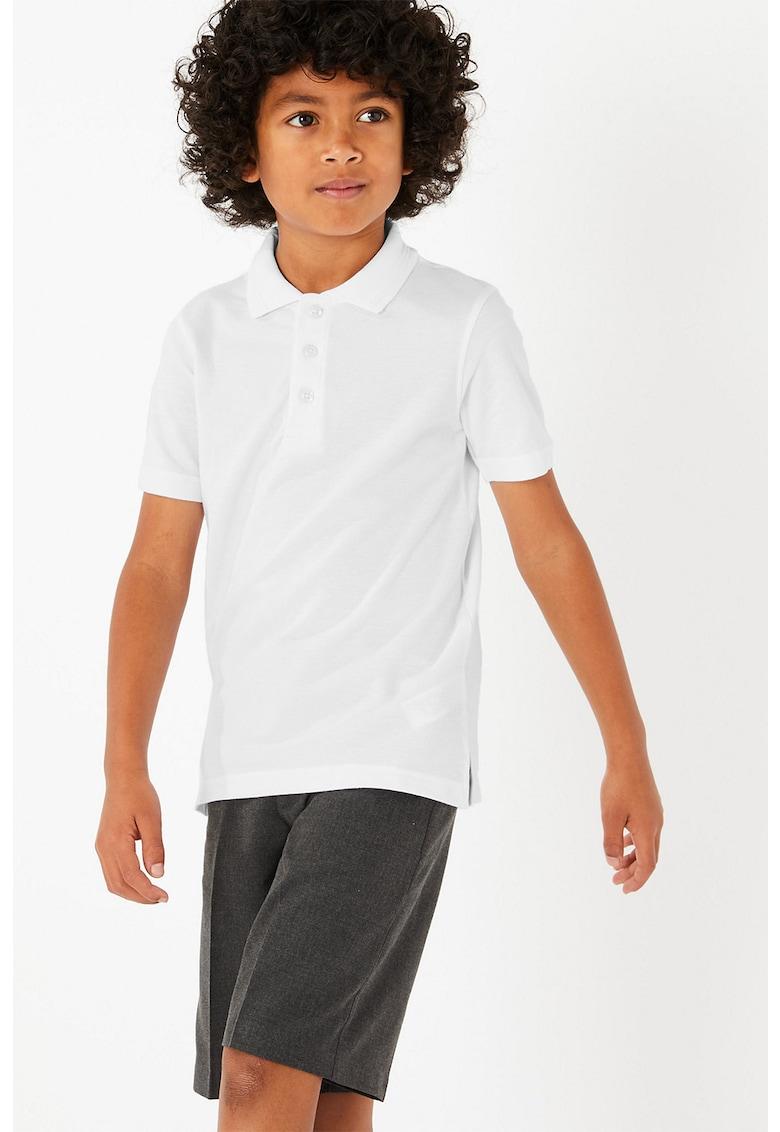 Set de tricouri slim fit polo - 2 piese imagine promotie