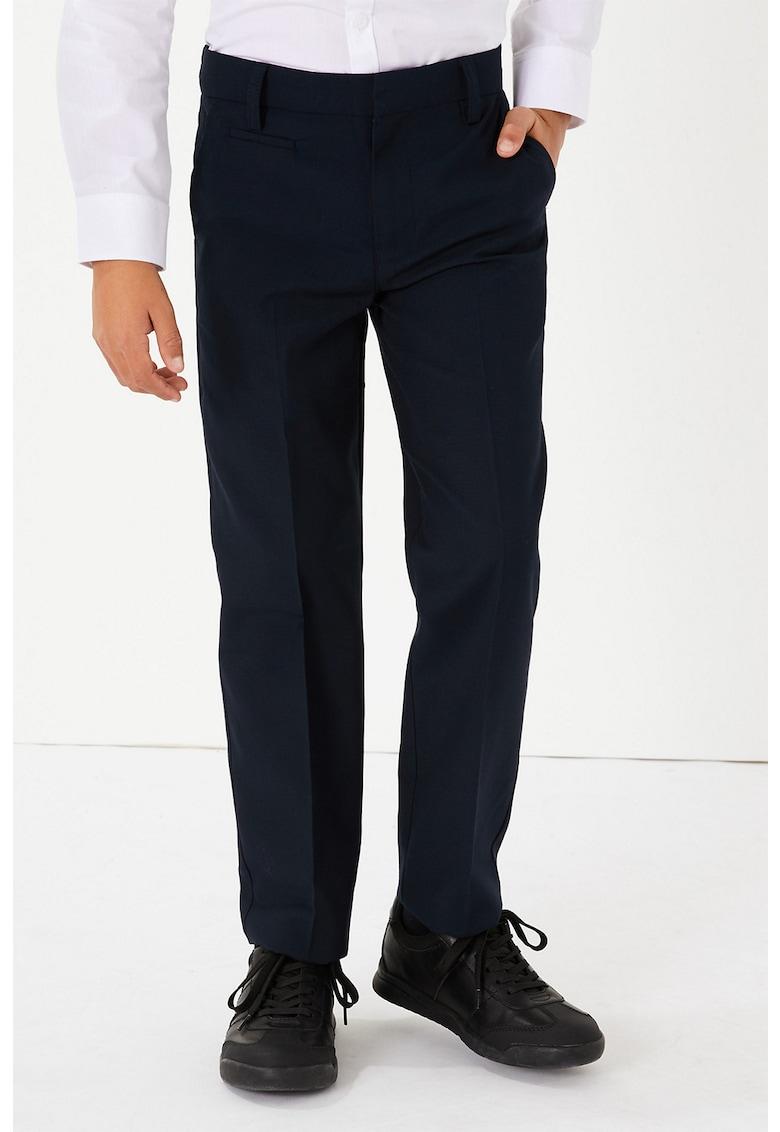 Pantaloni cu pensa si buzunare laterale imagine promotie
