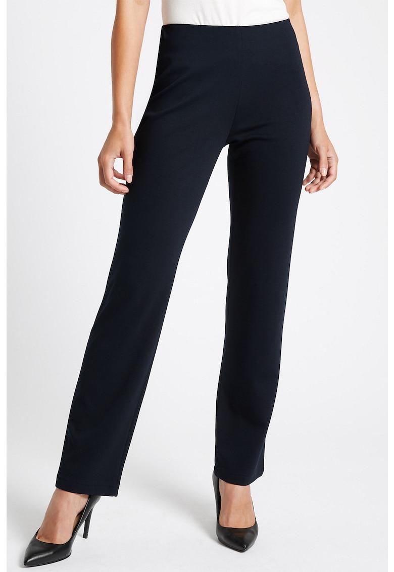 Pantaloni cu croiala dreapta imagine fashiondays.ro