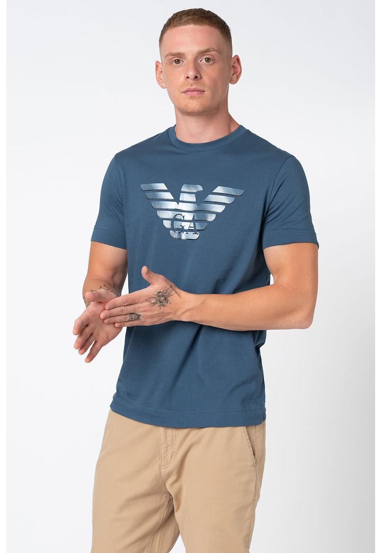 Tricou de bumbac cu imprimeu logo Bărbați imagine
