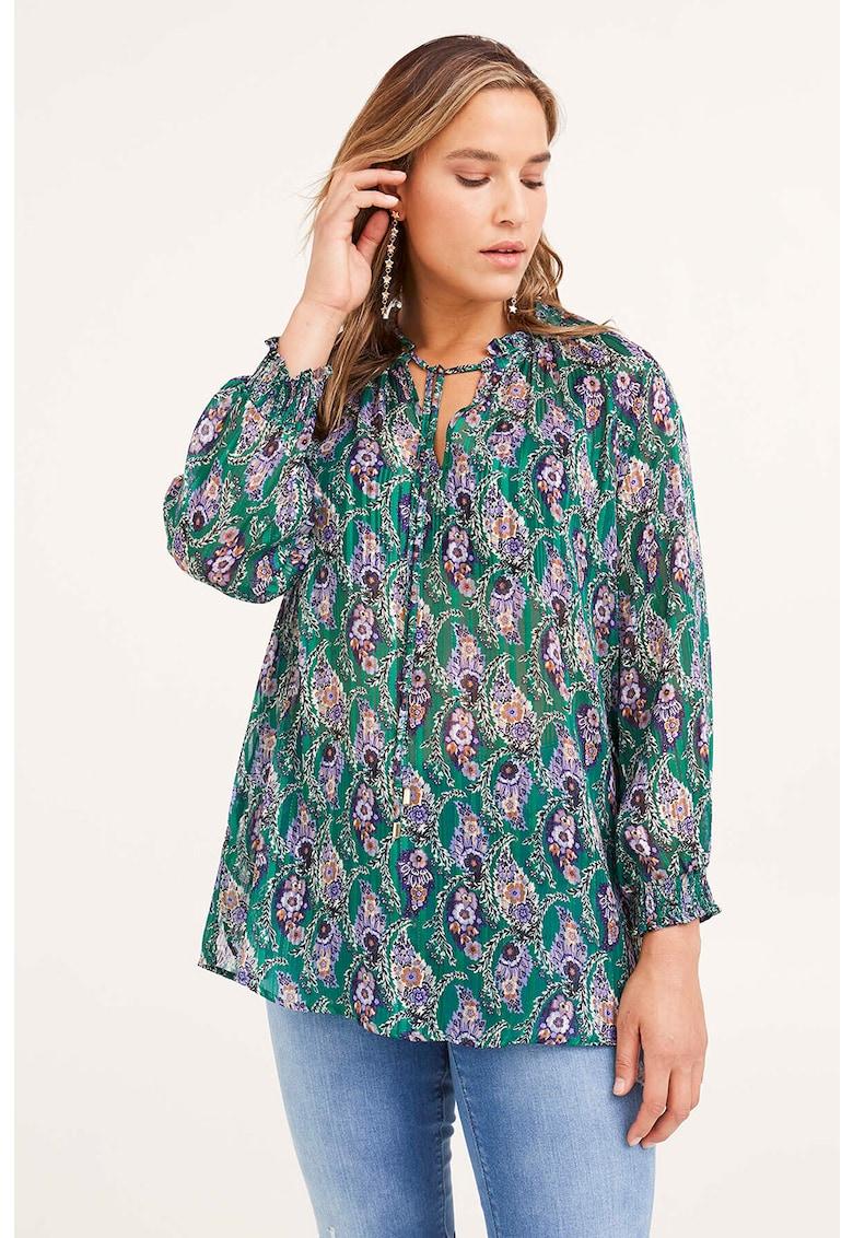 Bluza cu imprimeu paisley