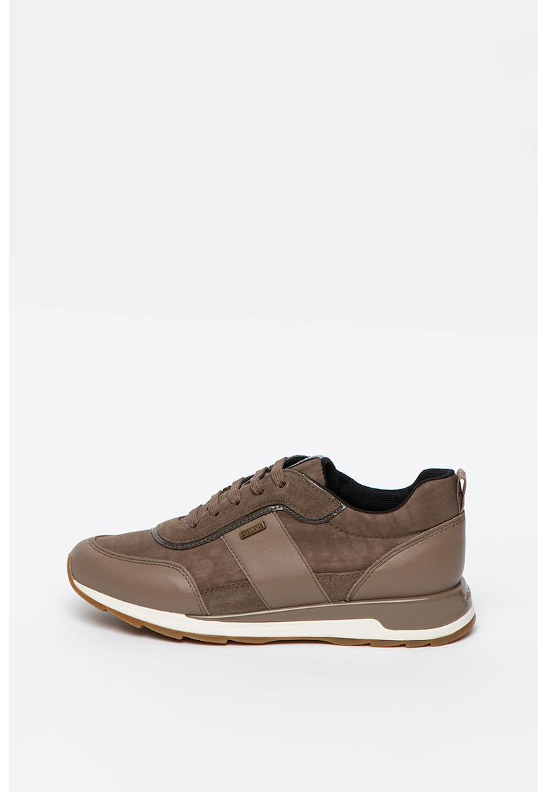 Pantofi sport cu detalii din piele intoarsa New Ankeko
