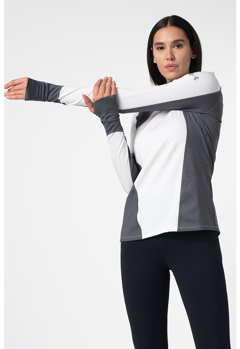 Hanorac cu fente pentru degetul mare - pentru fitness Reactor de la Under Armour