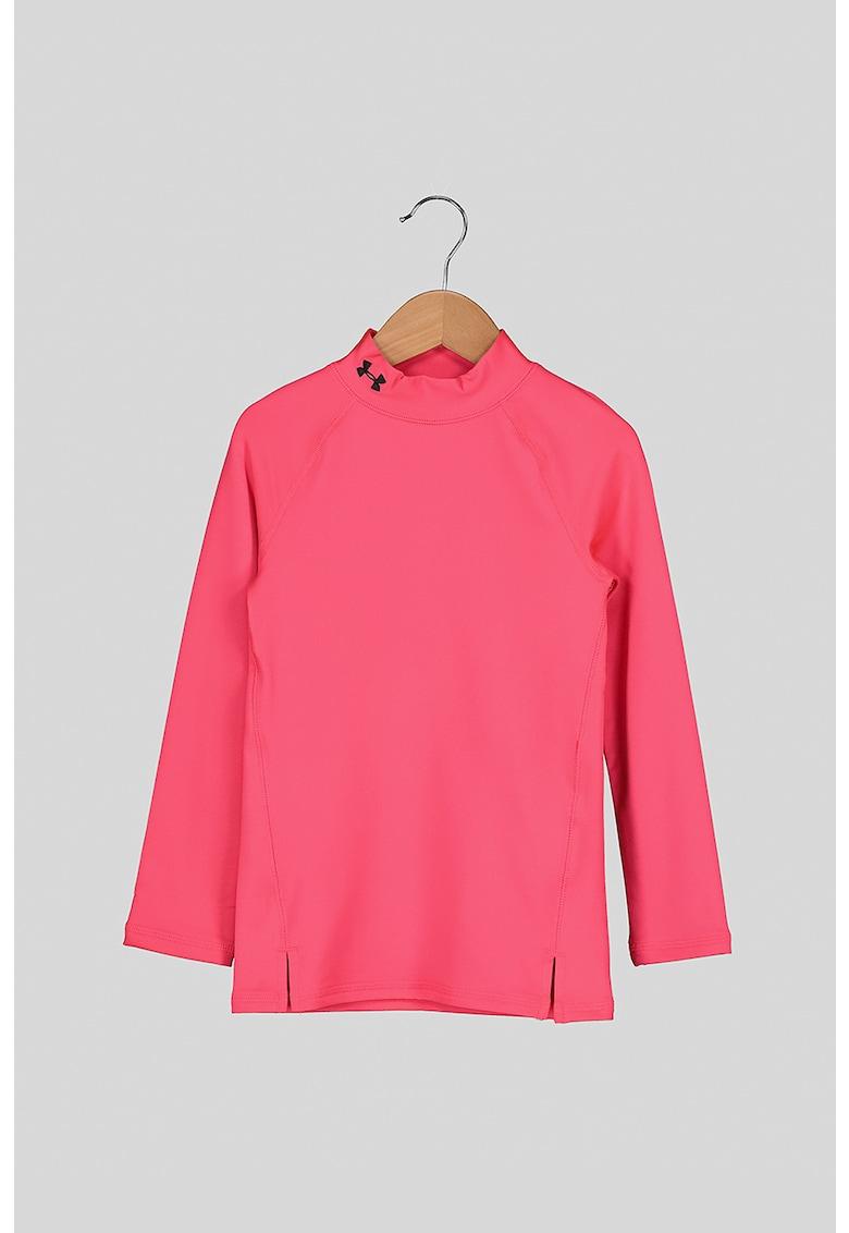 Bluza cu guler scurt - pentru fitness ColdGear imagine