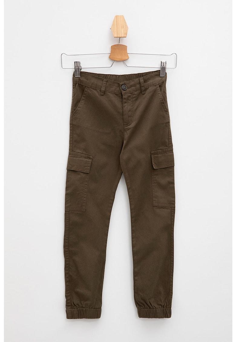 Pantaloni cargo cu talie inalta DeFacto fashiondays.ro